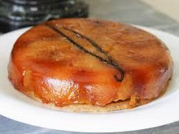 tarte tatin cuisine az tarte au flan vanille facile et pas cher recette sur cuisine actuelle