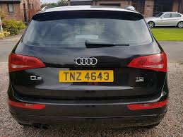 Audi Q5 60 Plate - 2010 audi q5 2 0 tdi quattro 4x4 140 6 speed manual fsh full mot