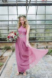 Pink Colour Combination Dresses by Best 25 Dusty Pink Bridesmaid Dresses Ideas Only On Pinterest