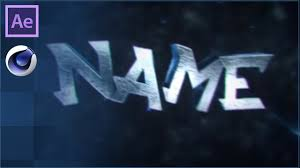 blinking cinema 4d u0026 after effects intro template free download