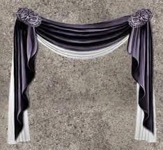 Purple Drapes Or Curtains Second Marketplace Nb Curtain Drapes Purple White