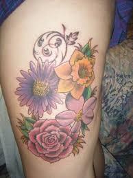 82 best birth month flower tattoo ideas images on pinterest