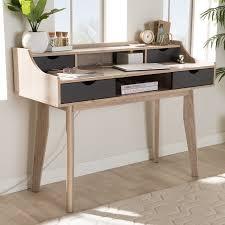 Modern Desk Hutch George Oliver Glastenbury Mid Century Modern Writing Desk With