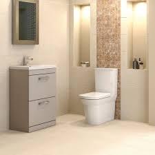 auriga stone grey 800mm floor standing bathroom drawer cabinet