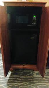 Microwave Inside Cabinet Microwave And Refrigerator Inside Cabinet Picture Of Comfort
