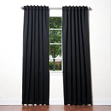Tab Top Button Curtains Amazon Com Best Home Fashion Thermal Insulated Blackout Curtains
