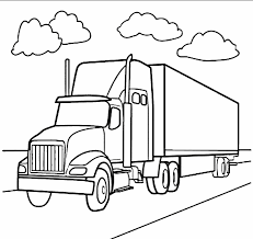 18 wheeler coloring pages download coloring pages 4713