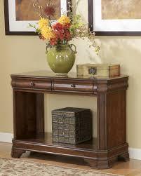 Ashley Furniture Bedroom End Tables Hamlyn Pedestal Dining Room Set Signature Design By Ashley