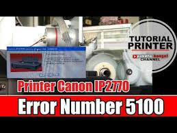 reset canon ip2770 blinking canon ip2770 blink dengan error number 5100 canon ip 2770 eror 5100