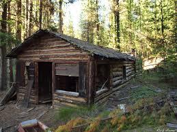 Log Home Decor Catalogs Abandoned Log Cabin In Whitman National Forest Loversiq