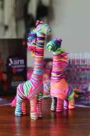 diy kids yarn art with ann williams les petits gazette