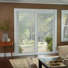 Sliding Louvered Patio Doors 50 Series Gliding Patio Door With Blinds American Craftsman By