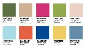 pantone spring summer 2017 pantone reveal top ten trend colours for 2017 design insider