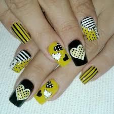 119 best uñas amarillas images on pinterest yellow nails html