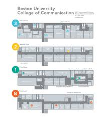 Map Of Boston College Map Of Com College Of Communication