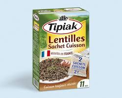 cuisine lentilles vertes lentilles vertes sachet cuisson tipiak