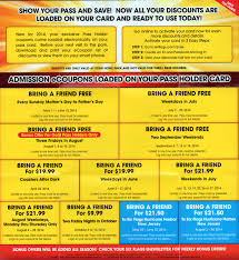 Season Pass Renewal Six Flags Six Flags Season Pass Coupons Bring A Friends The Park Today