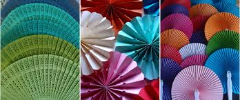 paper fans bulk paper and silk fans for weddings and favors now on sale