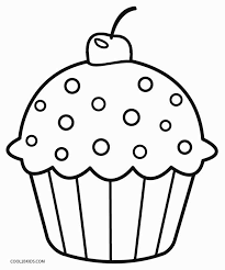 Free Printable Cupcake Coloring Pages For Kids Cool2bkids Printable Coloring Pages