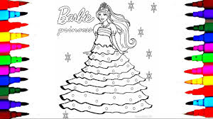barbie coloring pages youtube cute barbie coloring pages printable for kids color alive barbie