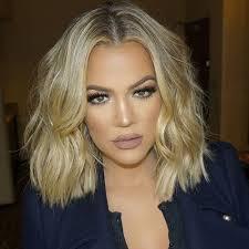 khloé kardashian debuts short lob khloe kardashian s 7 major hair moments styleicons