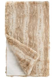 Real Fur Blankets Decorating Using Comfy Faux Fur Throw For Lovely Home Accessories