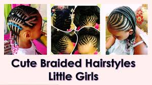 cute braided hairstyles for little black girls 2016 youtube