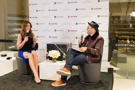 cosentino usa cindy crawford co hosts u201ctalking top design u201d with