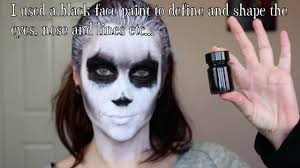 demon corpse paint halloween makeup tutorial video dailymotion