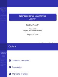 mh4320 lec1 computational economics game theory economics of