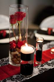 Black And Red Vase Wedding Decoration Awesome Black And White Dining Table