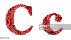 heart letter c stock photo getty images