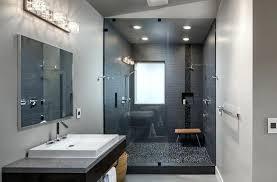 bathroom ideas grey modern bathroom ideas pebble shower contemporary bathroom ideas