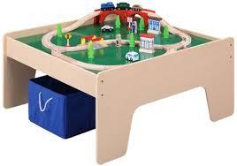 Imaginarium Train Set With Table 55 Piece Wooden Train Table Toy Train Center