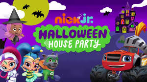 paw patrol mission paw halloween house party nickelodeon jr