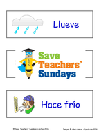 spanish seasons u0026 weather lesson plan powerpoint with audio