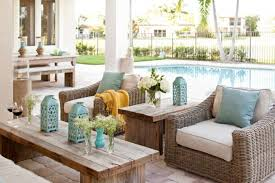 Pool And Patio Decorating Ideas by Stylish Options Of Wicker Patio Furniture Artenzo