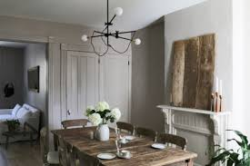 Industrial Dining Room by Peaceful Dining Room With Farmhouse Furniture And Industrial