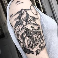22 best mountain tattoo ideas images on pinterest drawings