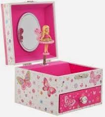 Childrens Music Boxes Childrens Musical Jewellery Box Kids Pink Music Box Ballet With