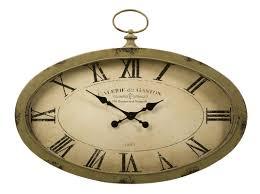 imax sophie oval wall clock u0026 reviews wayfair