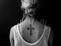 34 neck tattoos designs for fancy and cross