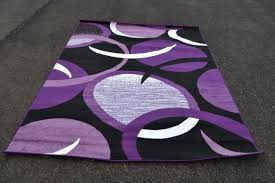 Purple And Black Area Rugs Purple And Grey Area Rugs Home Design Ideas