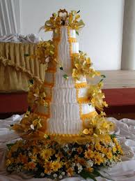 another innovative wedding cake from apple blossom bakeshop