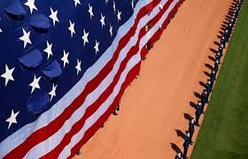What Does The American Flag Look Like Why The Star Spangled Banner Is Played At Sporting Events