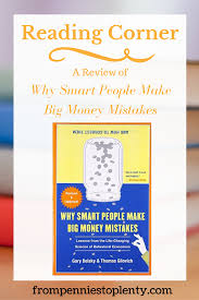 reading corner a review of why smart people make big money