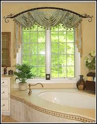 Arch Window Curtain Bay Window Curtain Rod Elegant Interior Design With Bay Window