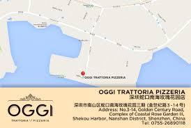 Shenzhen China Map Oggi Is The Best Italian Restaurant In Guangzhou Awards Winner