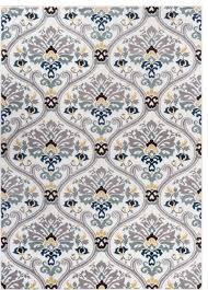 well woven electro rug darling floral gold 2 u00273