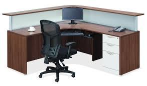 Reception Office Desks by Pecks Op Office Furniture